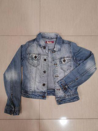 🚚 Denim Cropped Jacket