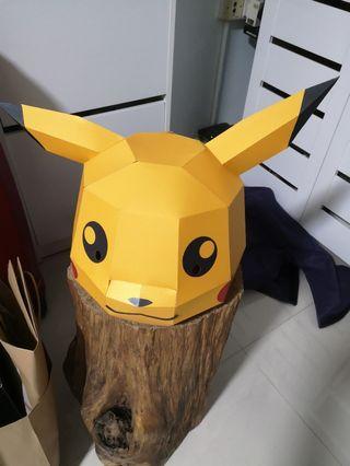 Pikachu Mask Prop Mascot