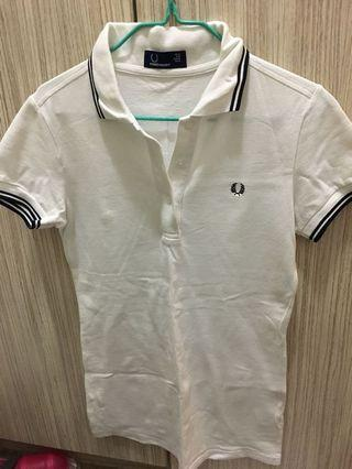 Fred Perry polo top in size 12