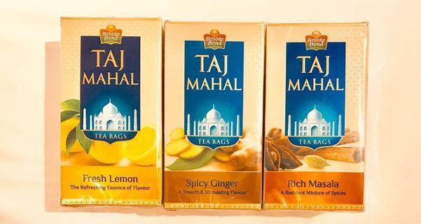 茶包 Tea Bags Taj Mahal Selection