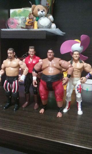 Wrestling figure