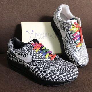 """Nike Air Max 1 On Air """"Tokyo Maze"""" UK5 #EST50"""