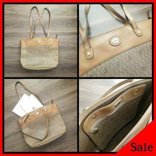 Authentic Christian Dior Monogram Tote Bag
