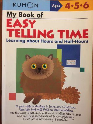 Telling time age 4-6