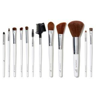 E.L.F. Cosmetics, Essential Professional Complete Brush Set, 12 Brushes