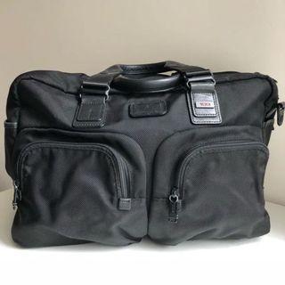 Tumi Alpha Bravo Everett Essential Tote. Travel Bag. Black