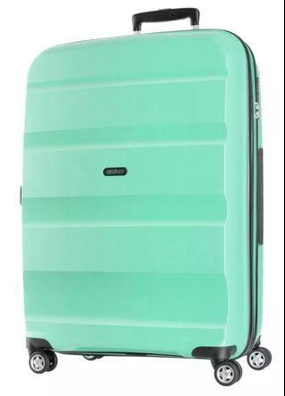 [BNIB] American Tourister Bon Air Deluxe Spinner Luggage 75cm (Green)