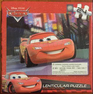 Cars Lenticular Puzzle