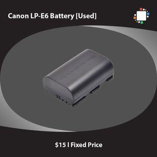 Canon LP-E6 Battery [3rd Party]