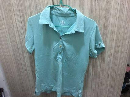 Aigle athletic polo top in size 38