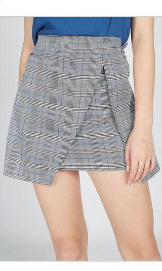Elaine Checkered Miniskirt