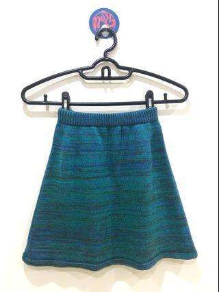 🚚 美國帶回 American Apparel 藍綠色針織裙