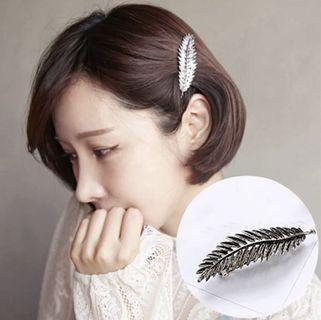 🚚 樹葉髮夾