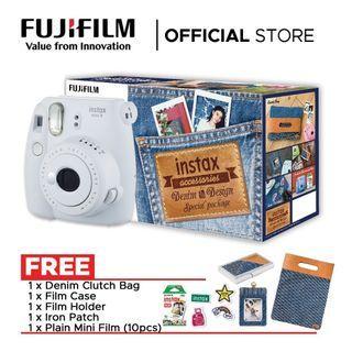 Fujifilm Instax mini 9 Denim special edition (free pos)