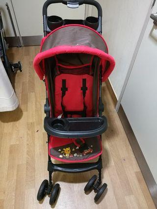 Lightweight One-hand Fold Stroller by Anakku #CarouRaya