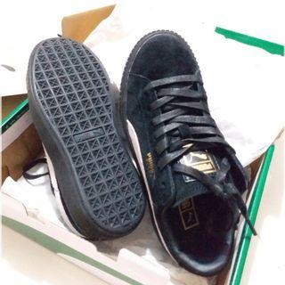 Puma黑色板鞋