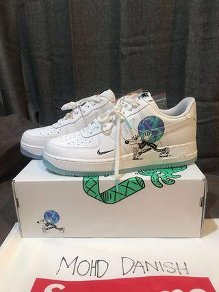 Air Force 1 Flyleather Steve Harrington Earth Day