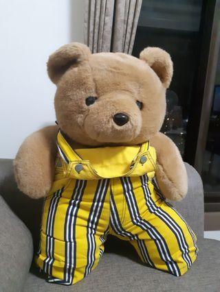 🚚 吊帶褲小熊玩偶