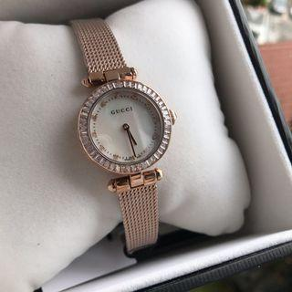 b0508bab932 Gucci Classic Rose Gold ladies watch