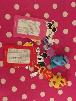 東京迪士尼Micky Minnie証件/八達通套