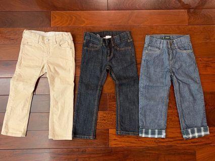 Jacadi jeans x 3 - 36mths