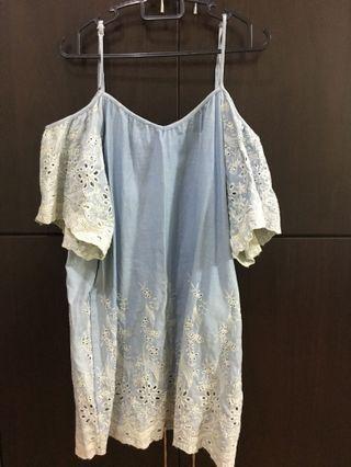 🚚 VG Off Shoulder Lace Dress