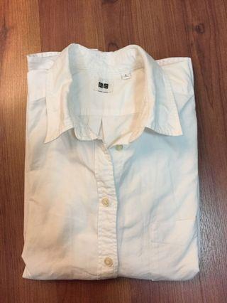 UNIQLO Oxford White Shirt