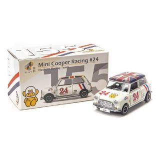 Tiny City 155 Diecast - Mini Cooper Racing #24 Hesketh Racing Team