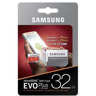 32GB Samsung Micro SD Card / Samsung Micro SD Card