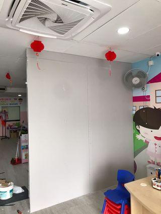 Partition Board Wall untuk Kindergarten dan Bilik Kelas