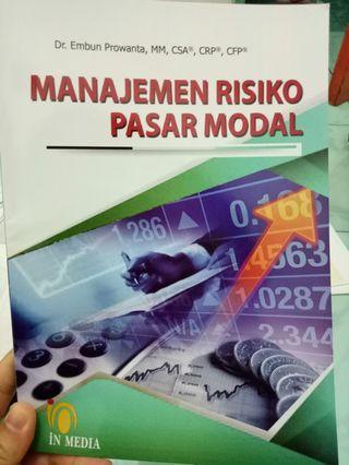 Buku Manajemen Risiko Pasar Modal