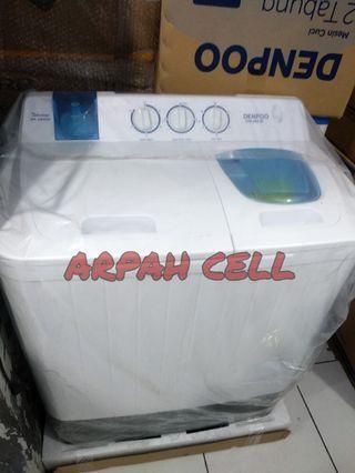 Mesin cuci denpo bisa di cicil cukup admin aja