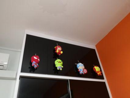 Marvel n DC Soft Toys