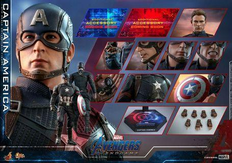 VIP次日 Hottoys avengers endgame captain america