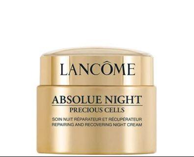 Lancôme Absolue Night Precious Cells Cream