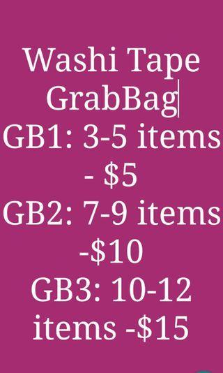 Washi Tape Grab bag