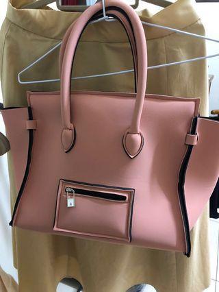 🚚 Save my bag囧包(天菜豆沙粉色)