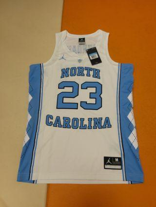 (100% New with tag) Jordan UNC Jersey 北卡