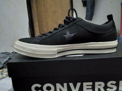 Sepatu Converse One Star OX black