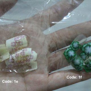 Fake nails/kuku palsu 11pcs