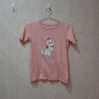 🚚 可愛貓咪粉色T恤