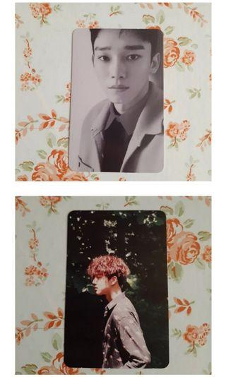 EXO CHEN AND EXO SUHO PHOTOCARD FROM ALBUM!