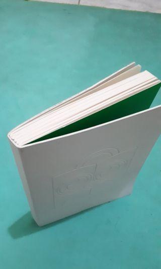 Notebook buku catatan tokopedia semi kulit