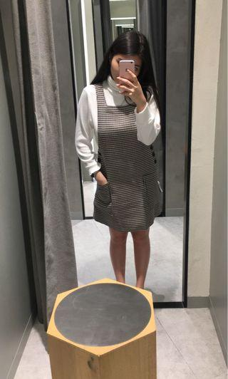 Mango Checked Outer Dress