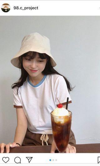 🚚 98度c白色T-shirt