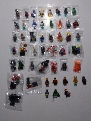 Non-Lego Decool SY etc. Minifigures Bundle