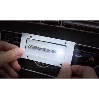 現貨 賓士 amg 隨意貼 金屬 標貼 中控貼 CLA GLA C300 E250 W204 s205 GLK