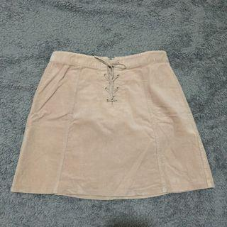 ROK SKIRTS SUEDE TALI PINK CORAL PASTEL