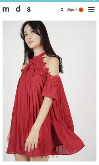 MDS Off Shoulder Dress