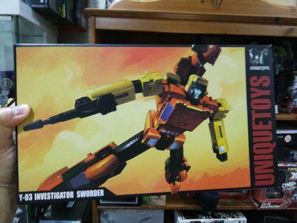 Transformers Unique Toys Sworder